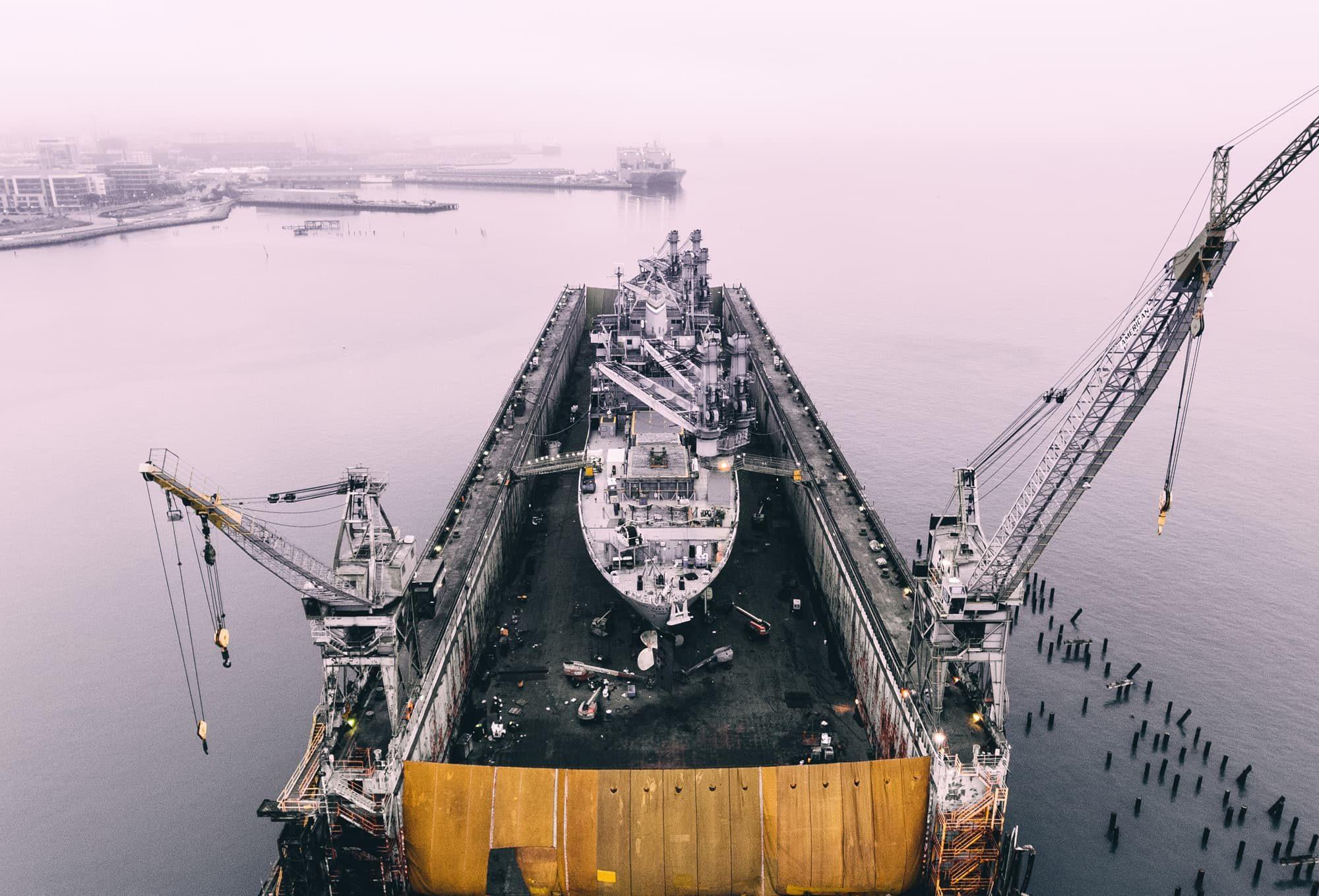 Travaux maritimes