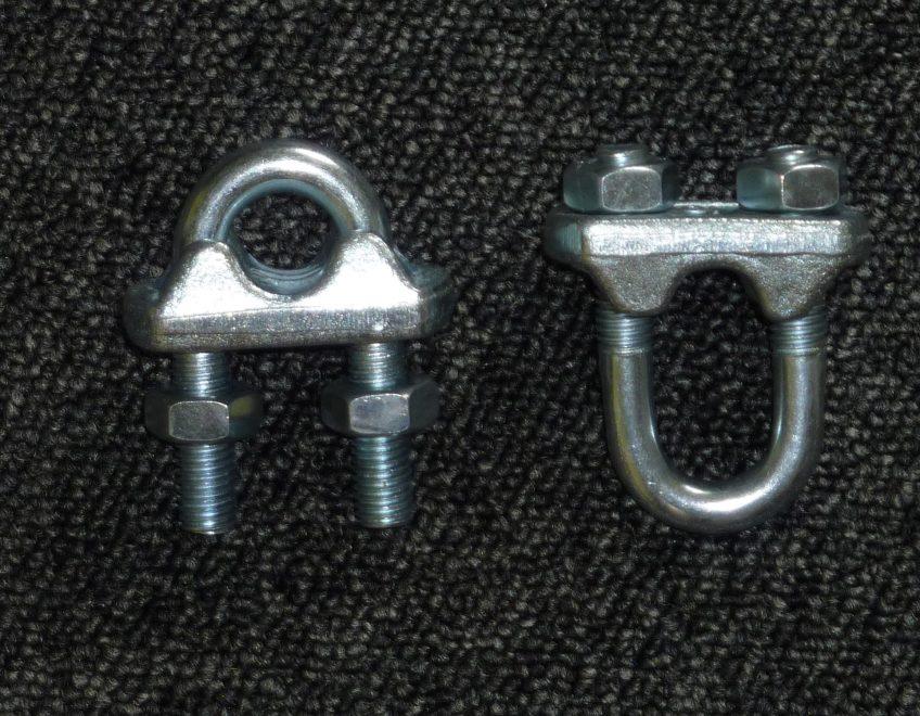 Serre-câble inox